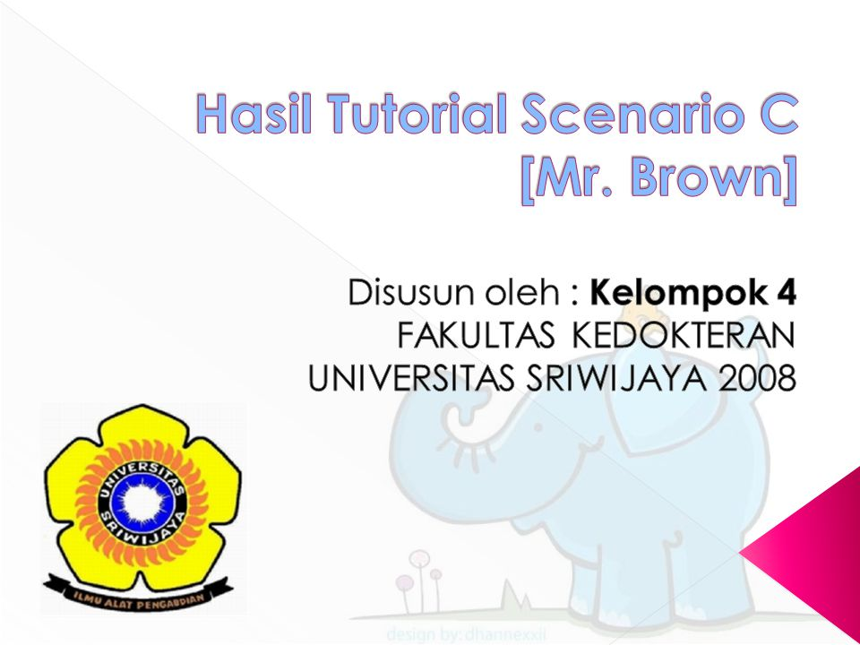 Hasil Tutorial Scenario C [Mr. Brown]